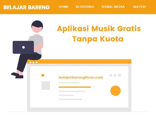 Aplikasi Musik Gratis Tanpa Kuota